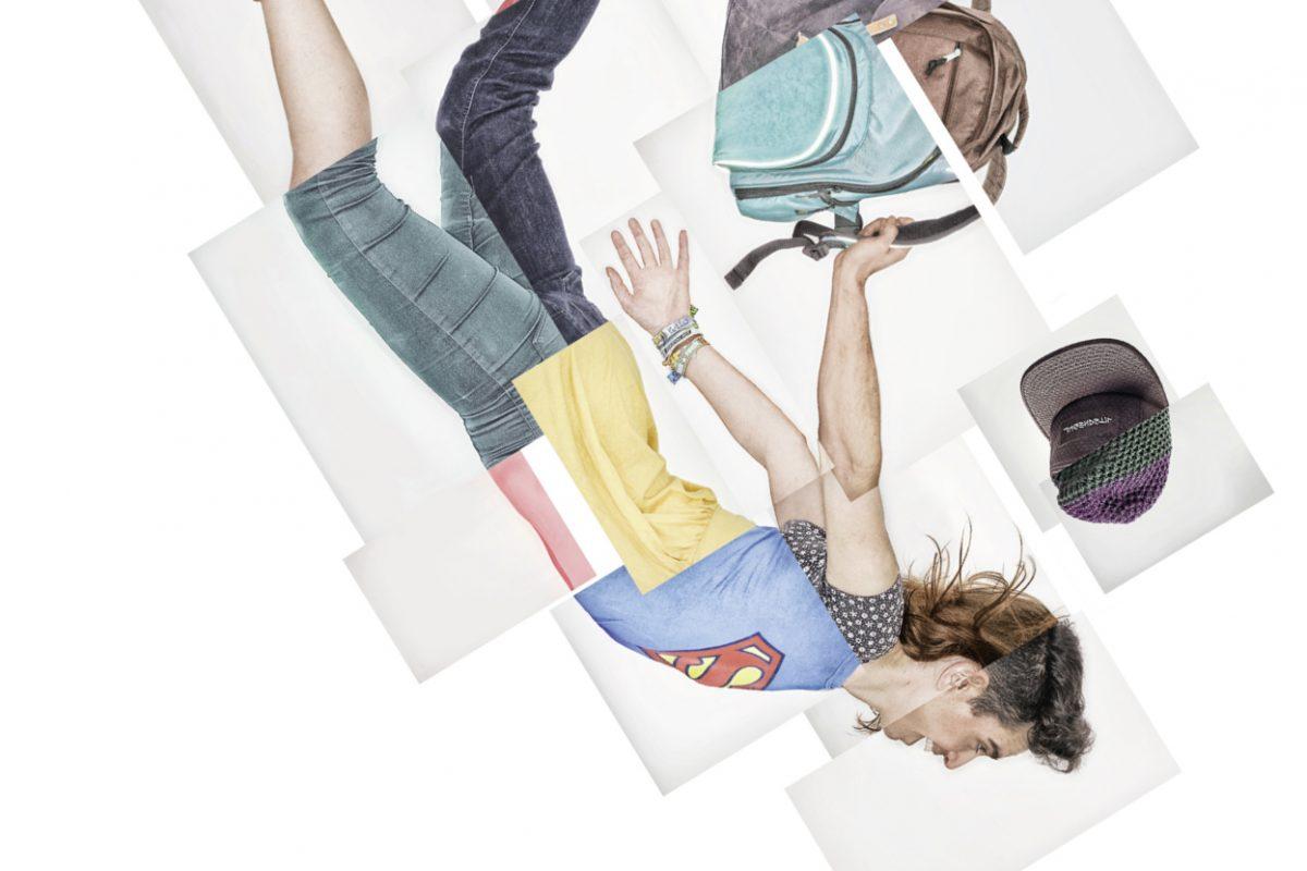 "Foto/Illustration: ""Der freie Fall"""